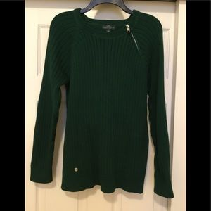 LRL RIBBED SWEATER